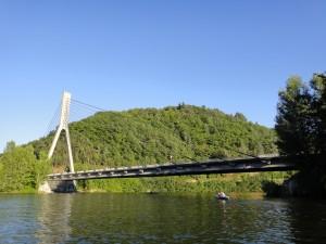 Avez-vous trouvé le kayak sous le pont du Pertuiset ?