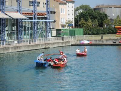 Bassin de joute à Givors, 07/09/2014