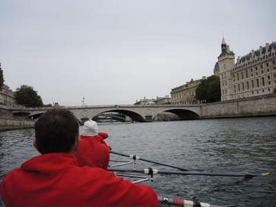 Aviron Stéphanois de l'USVM à la traversée de Paris, 6 octobre 2014