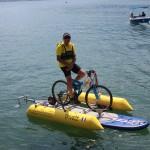 Vélo sur l'eau