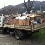 Plus de 2 camions d'encombrants